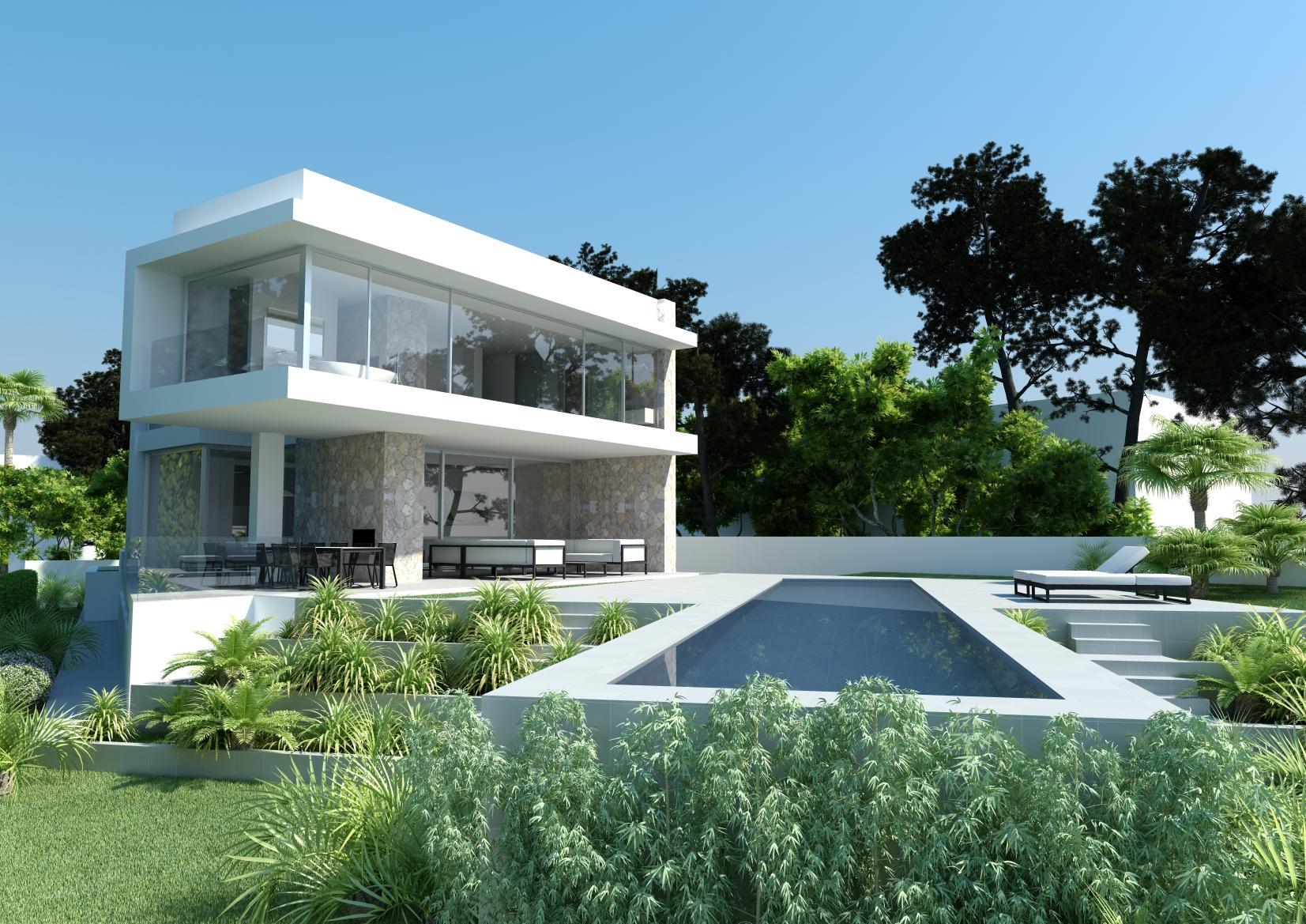 First line Villa in El Toro