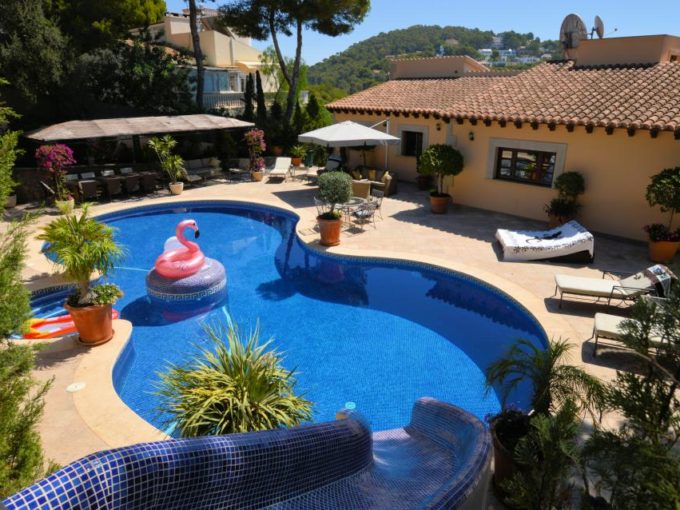 Family villa Costa d'en Blanes