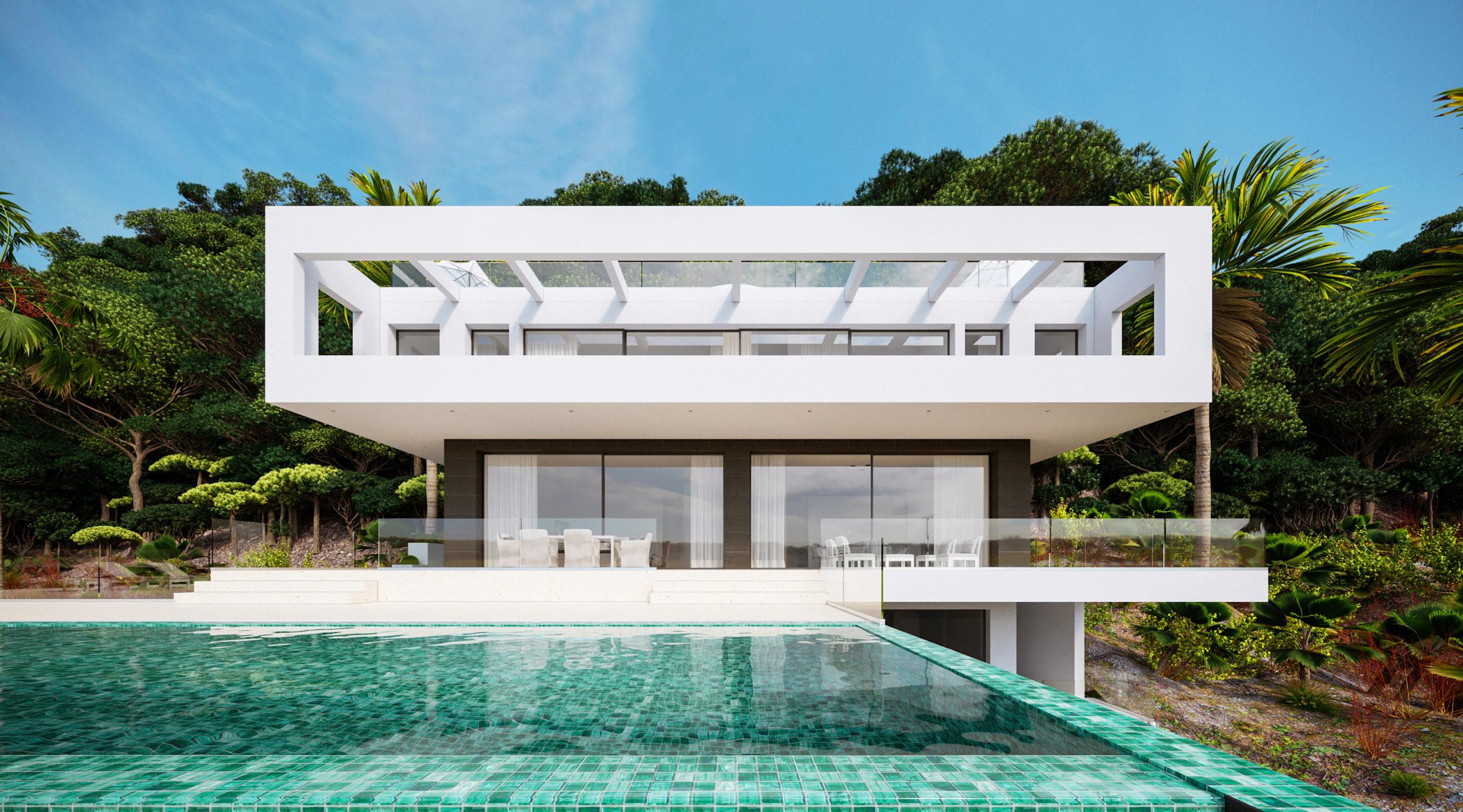 Modern Villa in Son Vida with breathtaking views