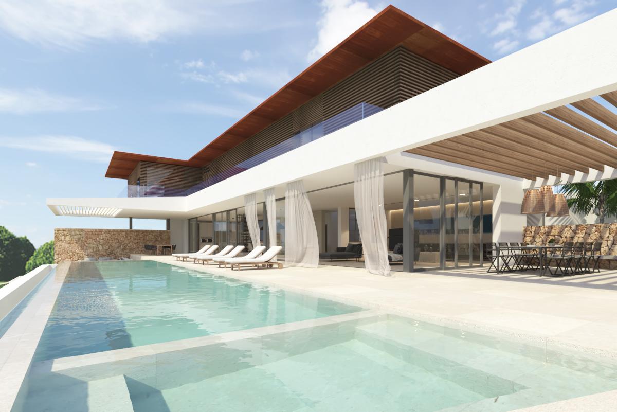 Projet vue mer à Cala Vinyes