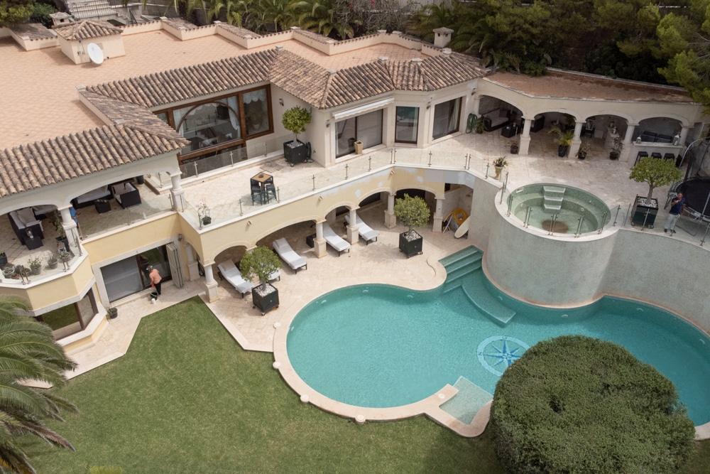 A luxury sea view Villa in Costa de la Calma